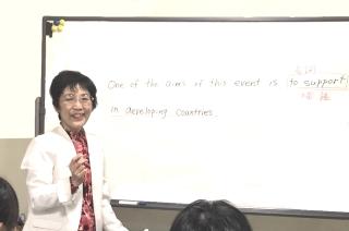 白石先生の授業
